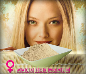 Maca Powder & Blonde Women
