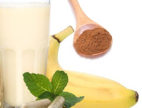 Cinnamon Banana Maca Shake Recipe