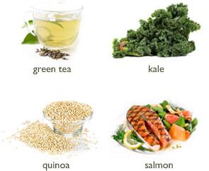 GreenTea Kale Quinoa Salmon