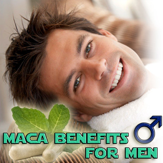 Maca benefits for men
