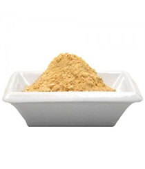 Maca Root Powder On Plate