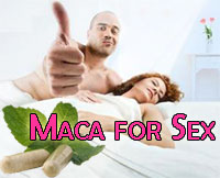 Man Woman In Bed & Green Maca