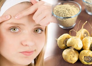 Maca Powder Acne Treatment